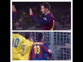 """Everything about soccer on Instagram: """"History repeats itself Ronaldinho let a penalty kick for Villareal for messi and he misses it so does messi now with neymar. التاريخ يعيد…"""""""