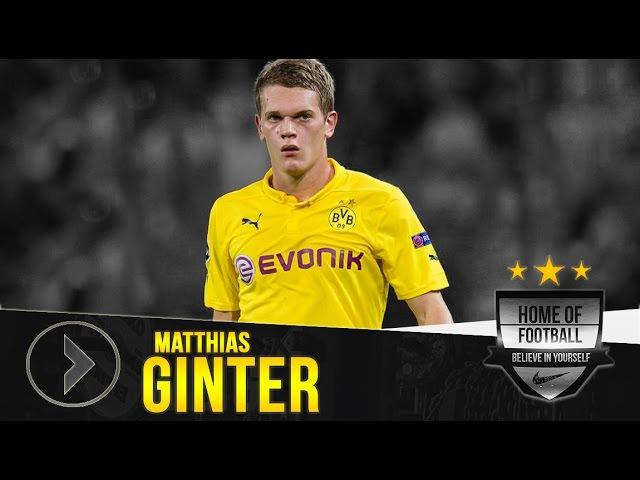 MATTHIAS GINTER Borussia Dortmund Goals Assists Skills 2015 16 HD