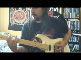 SLAYER -  full Divine Intervention Album on guitar ! with solos ! in HD