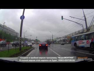 Эпичное ДТП Алтуфьевское шоссе