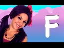 Learn ABC's - Learn Letter F | Alphabet Video on Tea Time with Tayla