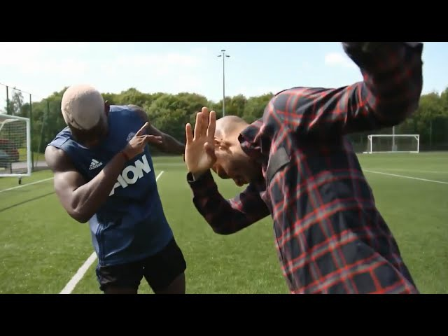 Paul Pogba Takes The Piss Out of Zlatan Ibrahimovic Dabs With Henry Full Exclusive Interview