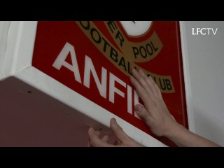 Iconic 'THIS IS ANFIELD' sign restored to new Main Stand