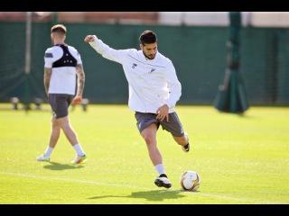 Liverpool FC Training - Melwood - Ahead of Europa League Semi-Final vs. Villarreal