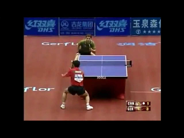 World Cup 2002 Timo Boll vs Kong Linghui