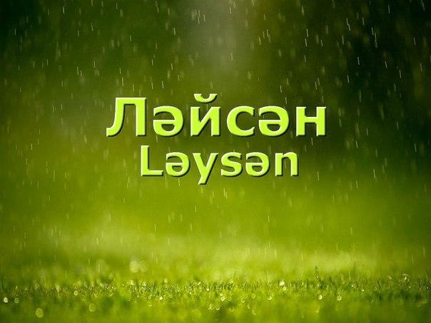 Поздравления с днем рождения по имени лейсан