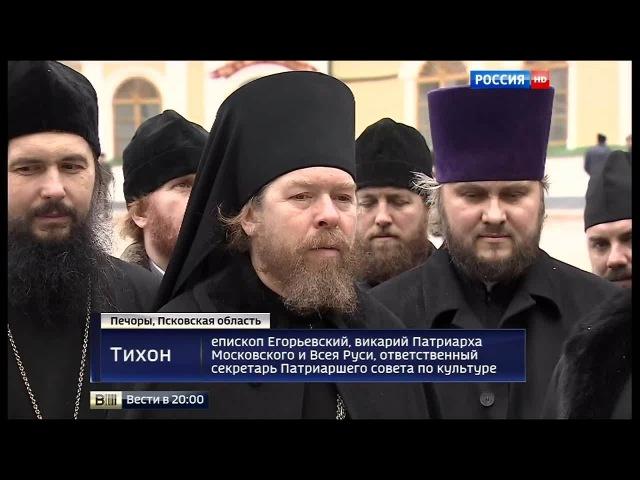 День памяти отца Иоанна Крестьянкина очередь паломников в келью не прекращается