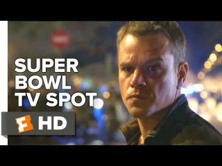 Jason Bourne Super Bowl First Look TV SPOT (2016) - Matt Damon Movie HD