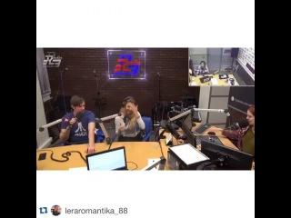 "5sta Family on Instagram: ""😂 Ха #Repost @leraromantika_88 with @repostapp. ・・・ HELPчас на радио Радио, 5 февраля 2016 года #LeraRomantika #LeraKozlova #LeraLera…"""