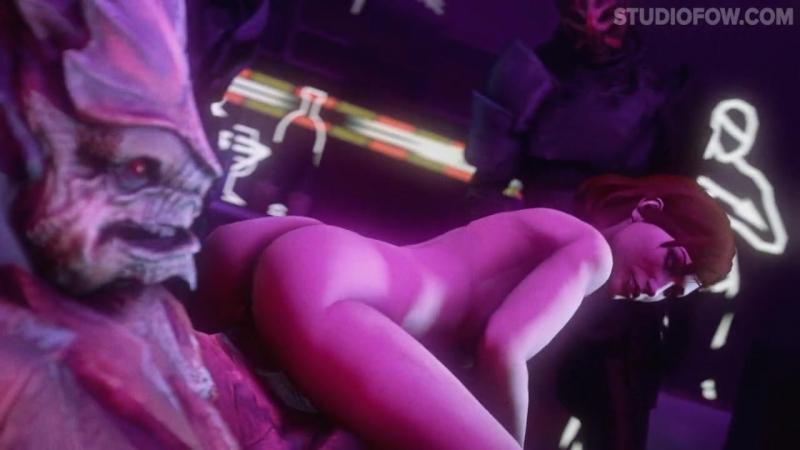 3 D HENTAI Mass Effect 3 BACHELOR PARTY OMEGA