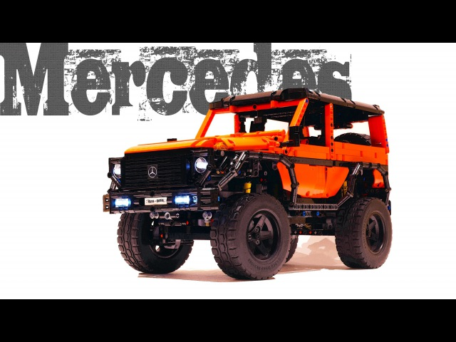 Mercedes G Class SWB in LEGO TECHNIC