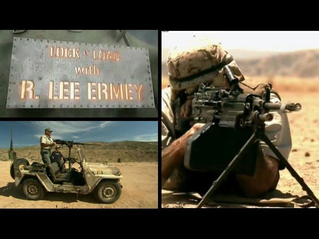 Пулеметы Часть 02 Заряжай с Ли Эрми History Channel