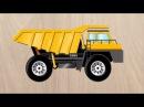 Спецтехника для детей. Мультик про самосвал, трактор, экскаватор, бетономешалку, кран и бульдозер