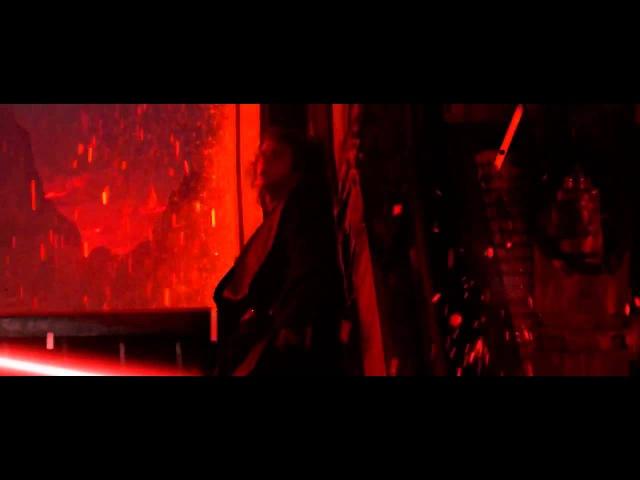 Anakin VS. Obi-wan (saber edit)