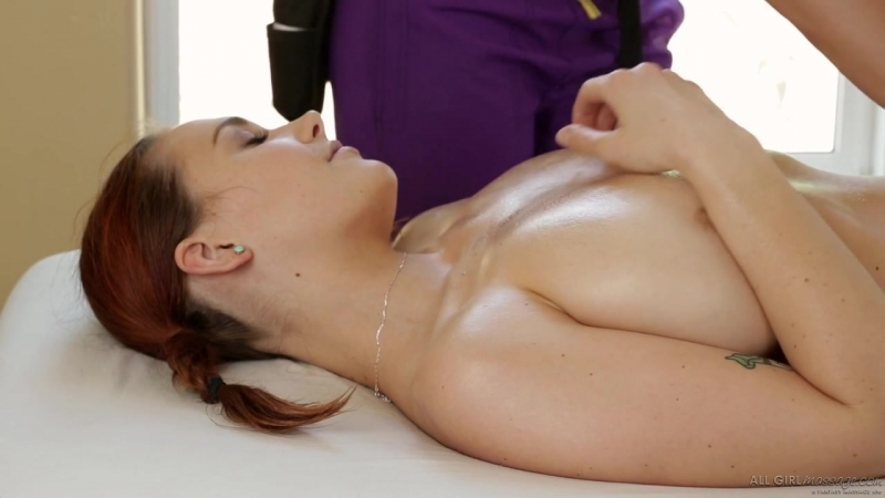 Siri and Jelena Jensen lesbian, massage, big