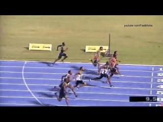 Usain Bolt wins 100m Semifinal 1 - Jamaica Olympic Trials 2016