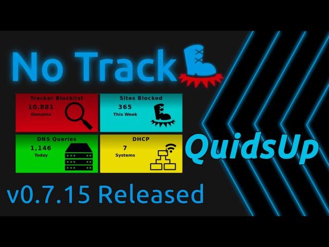 NoTrack v0 7 15 Released Lots more changes