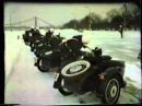 Подготовка мотоциклистов спец. батальона в СССР. Уникальное видео. Часть 2