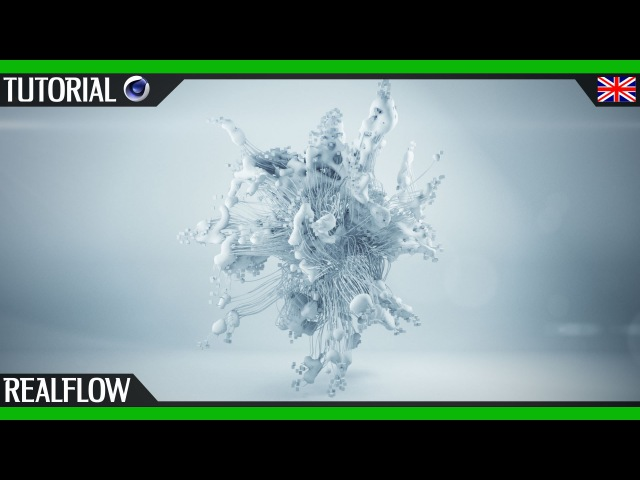 Mograph with Realflow Cinema 4D Thinking Particles English Tutorial motion design