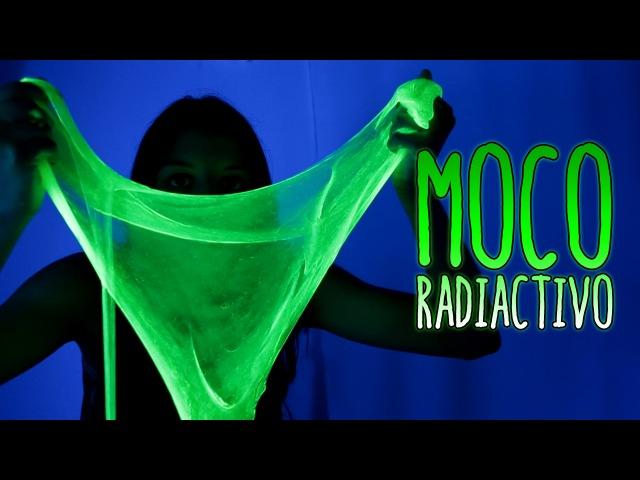 Cómo hacer MOCO radiactivo SLIME fluorescente Experimentos Caseros