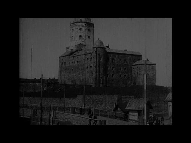 Vyborg Castle Viipuri 1918