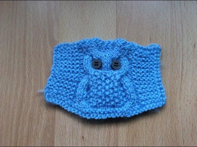 Modelul Bufnita pentru incepatori. Узор Сова (Knitting. Pattern Owl) step by step