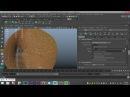 Maya 2016 tutorial : Basics of XGEN, how to create Hair, Fur, Grass etc.