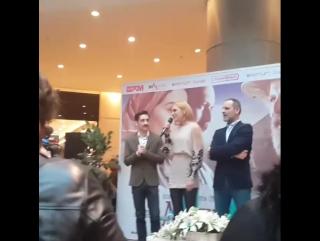 12 марта 2016 — Пресс-конференция фильма «Материнская рана» в Измире