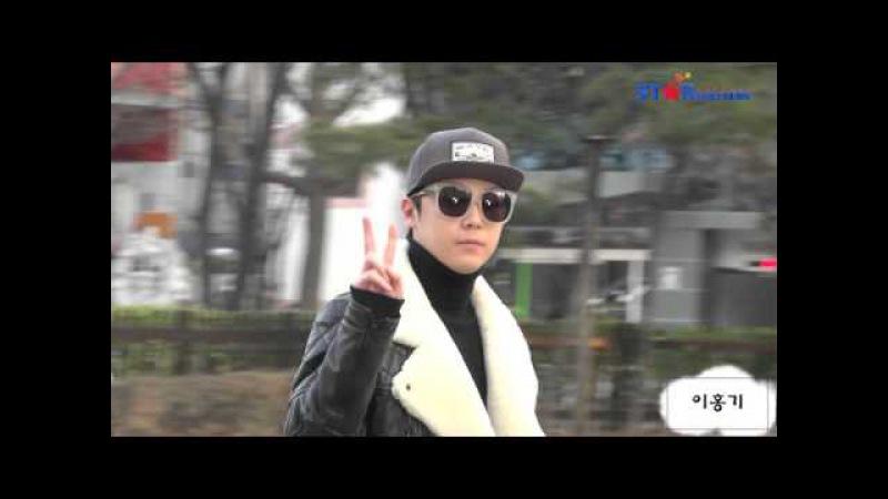 S영상 빅스 방탄소년단 이홍기 로이킴 '추운날씨 완전무장' 뮤직뱅크 출근