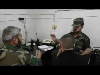 Командир «Тигров» полковник Сухейль Хасан руководит спецоперацией вАлеппском котле