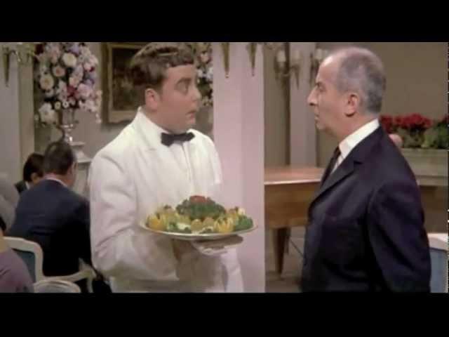 Louis de Funès - Le grand restaurant (1966) - Honte! (Affront)