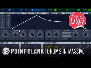 Synth Drum Sound Design in Massive & Battery (FFL!)