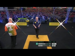 Robert Thornton vs Jamie Caven (Players Championship Finals 2014 / Round 2)