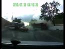 Авария 17.05.2013 Новороссийск. Районе «Танка» Шесхарис.