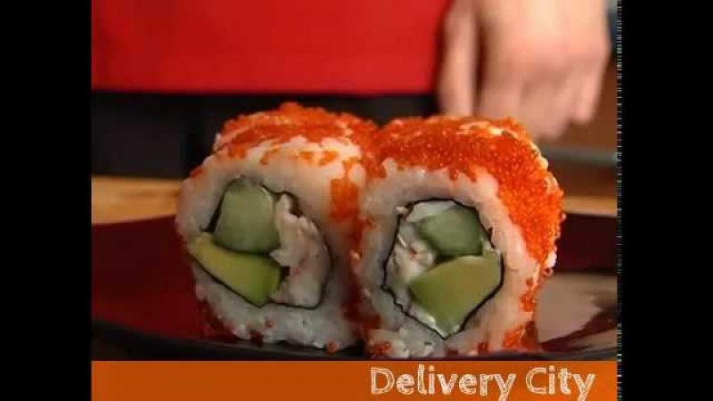 Японский рецепт ролл Калифорния в домашних условиях