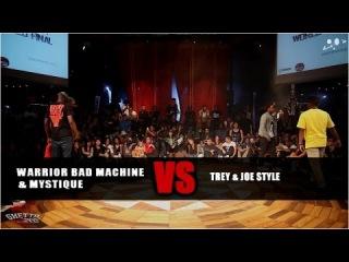 Joe styles &Trey vs Warrior bad machine & Mystique - step1 - GS FUSION CONCEPT WORLD FINAL