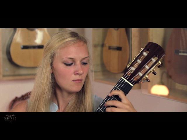 Julia Trintschuk Sonata No 1 Allegro by Carlos Guastavino on a 2016 Roy Fankhänel Special Edition