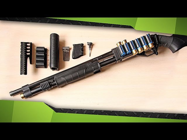 Дробовик ИЖ-81 (Мой вариант модернизации)