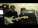Michael Jackson Rock With You guitar cover by Alex Sibrikov