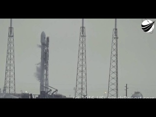 SpaceX Falcon 9 was destroyed by the UFO (English subtitles) - Falcon 9 был уничтожен НЛО