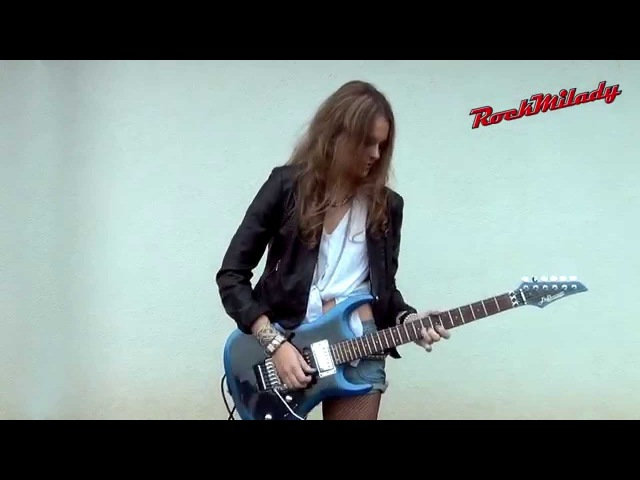 Dire Straits Sultans Of Swing guitar solo covered by RockMilady