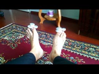 Кручу спиннер ногами