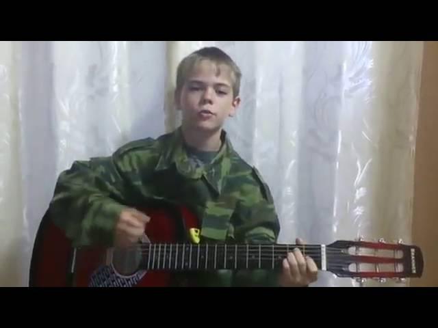 Кадет с гитарой на ютубе
