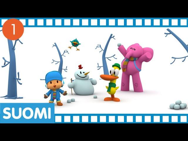 Pocoyo 30 minuuttia ja neljä jaksoa sarjakuvia lapsille