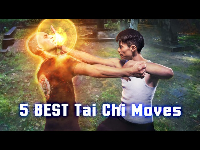 5 BEST Tai Chi Moves Techniques for Self Defense