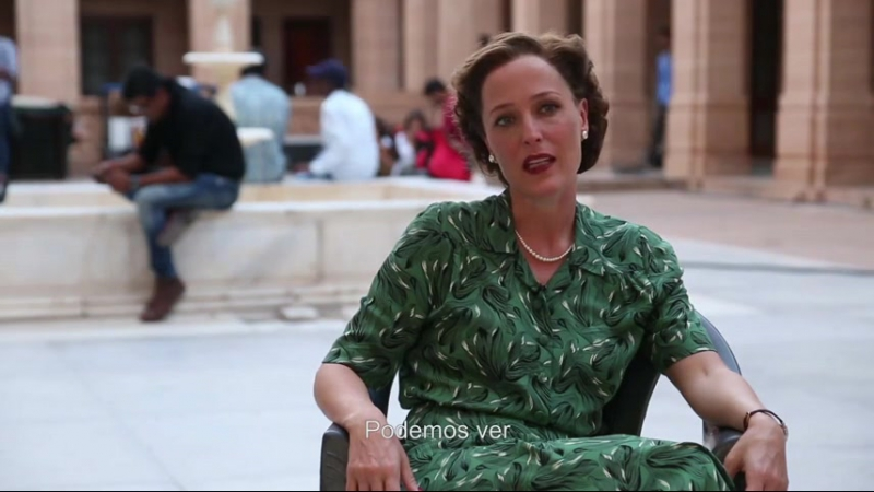 Gillian Anderson talking about Lady Edwina Mountbatten in new film Viceroy's House