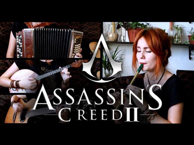 Ezio's Family Assassin's Creed II Gingertail Cover