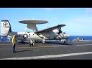 E 2C VAW 112 USS John CVN 74 's Take Off 2012
