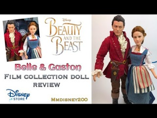 Disney Store: Belle and Gaston Film Collection doll set REVIEW
