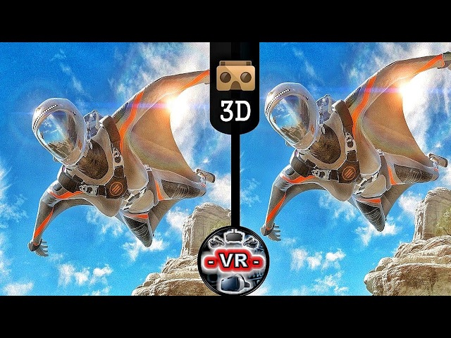 VR Acrophobia 3D Sky Diving VR Video 3D SBS Google Cardboard VR Box 360 Virtual Reality Videos 3D